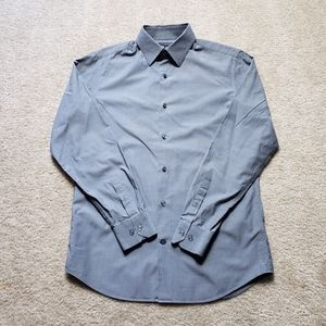 Banana Republic Slim First Gray Shirt